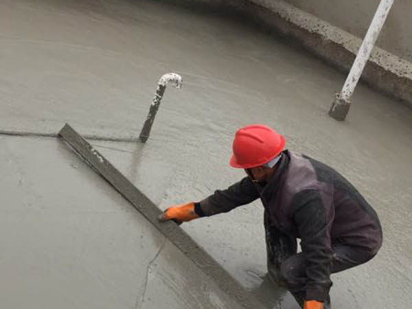 泡沫混凝土現場施工